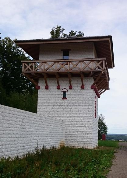 Replica of Roman Tower in Germany